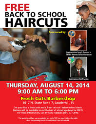 the back of penneys new haircut free back to school hair cuts news and events city of lauderhill