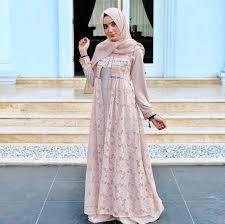 dress pesta ッ 30 model gaun pesta panjang muslimah modern 2018 fashion