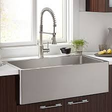 Kitchen Farm Sinks Hillside  Inch Wide Stainless Steel Kitchen - Kitchen ss sinks