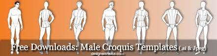 male croquis free mens fashion figure templates