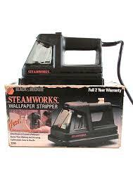 black u0026 decker steamworks wallpaper stripper remover model 1200