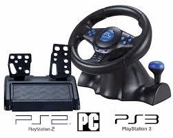 joystick volante joystick volante 3 em 1 ps3 ps2 pc c marcha e pedal js073 r