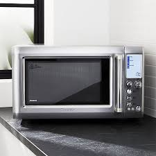 Toaster Oven And Microwave Breville Quick Touch Microwave Oven Crate And Barrel