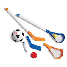 Little Tikes Football Toy Box Easy Score Hockey Soccer U0026 Lacrosse Set At Little Tikes