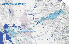 san francisco map east bay east bay municipal utility district water supply