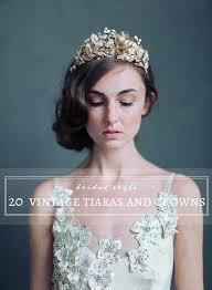 wedding tiaras 20 vintage wedding tiaras and crowns grace