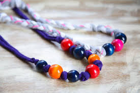 shirt necklace tutorial images Diy t shirt necklaces with beads jpg