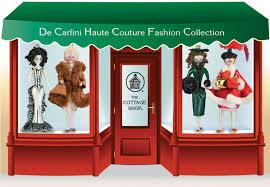 de carlini haute couture fashion store ornaments the