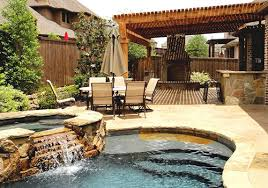 Pool Landscaping Ideas On A Budget Envy Exteriors Landscaping Patio U0026 Pool Design The Woodlands