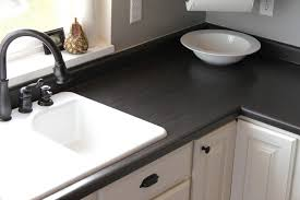 Kitchen Countertop Ideas Furniture Elegant Black Oak Kitchen Countertop Ideas With Acrh