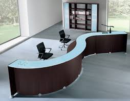 modern office table modern office lobby lacasse contemporary office reception table