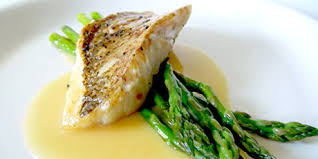 Lemon Beurre Blanc Recipe   red snapper with lemon beurre blanc asparagus recipes food