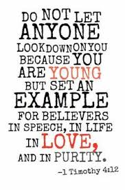 christian quotes sayings youth