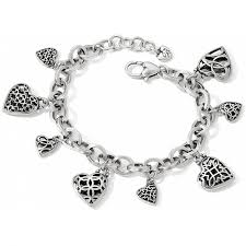 bracelet with heart charms images Limitless heart limitless heart charm bracelet bracelets jpg