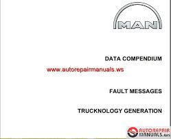 man tga fault messages trucknology generation auto repair