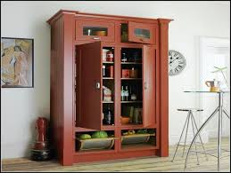 kitchen free standing kitchen pantry tall narrow cabinet free