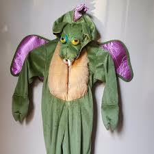Toddler Dragon Halloween Costumes Child U0027s Toddler Green Dragon Halloween Costume Size 3t Spooked