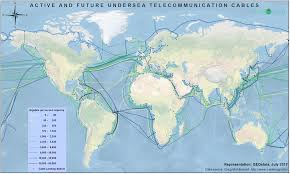Undersea Cable Map Undersea Telecommunication Cables