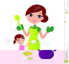 faire la cuisine enfantez faire cuire la nourriture saine avec l enfant dans la