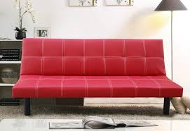 Red Sofa In Living Room by Small Red Leather Sofa Bed Centerfieldbar Com