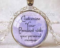 custom necklace pendants personalized pendant etsy