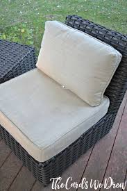 Cleaning Wicker Patio Furniture - how to clean patio cushions with steam homeright