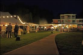 Wedding Venues Athens Ga Look How They Had Lights Strung Outside With Special Post Thingys