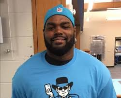 Mike Oher Blind Side Carolina Panthers Star Who Inspired Christian Movie U0027the Blind