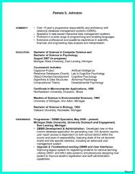 computer science resume template prepossessing industry resume scientist on of data science 41a