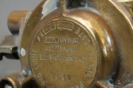 brass light gallery solid brass merchant ship u0027s light lannan gallery