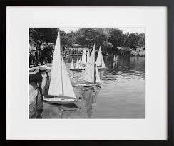 20x200 u0027s central park model boat regatta 1962 20x200