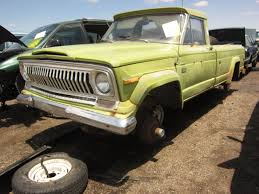 amc jeep truck junkyard find 1975 jeep j10 pickup the truth about cars