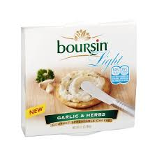boursin cuisine light gourmet spreadable cheese garlic herbs light