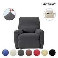 reclining sofa covers amazon amazon com stretch recliner sofa slipcovers sofa cover furniture