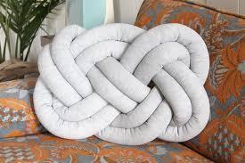 knot pillows diy knot pillow ehow