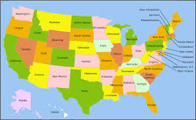 map of the usa map usa major tourist attractions maps