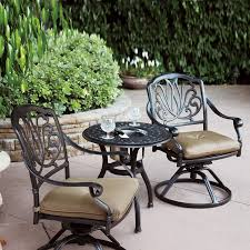3 Piece Patio Set Traditions Metal 3 Piece Patio Bistro Furniture Set Product