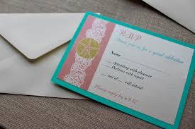 pocket fold wedding invitations beach glam including rsvp