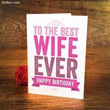 birthday card wife u2013 gangcraft net