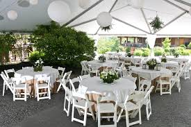 tables and chair rentals witt rental norwalk oh tent table chairs for weddings and more