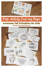 free printable fall activity coloring pages kids money