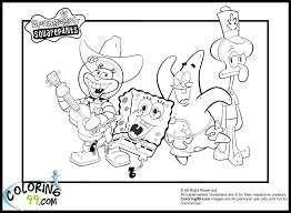 Spongebob Halloween Coloring Pages Spongebob Coloring Pages Printable Jpg 1500 1100 Kids