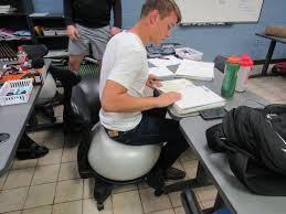ball chairs bounce into area classrooms news muskogeephoenix com