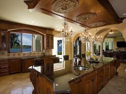 Mediterranean Kitchen Bellevue - traditional kitchen with simple granite counters u0026 stone tile in