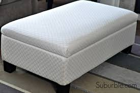 Recover Ottoman The No Sew Way To Recover An Ottoman Suburble