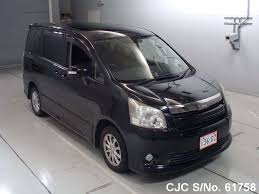 cars toyota black 2008 toyota noah black for sale stock no 61758 japanese used
