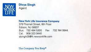 new york life help desk local services financial services divya singh licensed agent