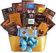 chocolate gift basket godiva gold chocolate gift basket