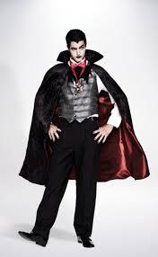 dashing vampire costume mens halloween costumes savers