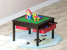 lego kitchen island utex 2 in 1 construction play lego table with storage drawers